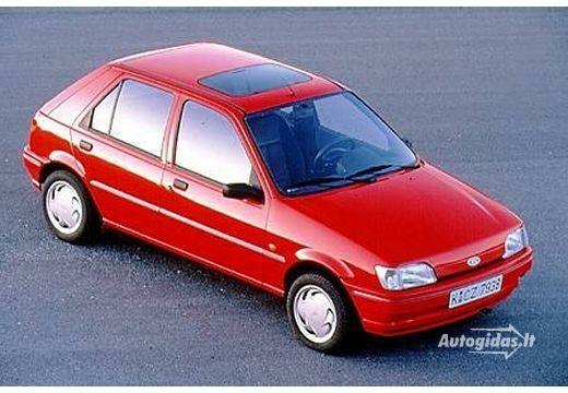 Ford Fiesta 1991-1992