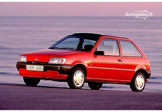 Ford Fiesta 1989-1991