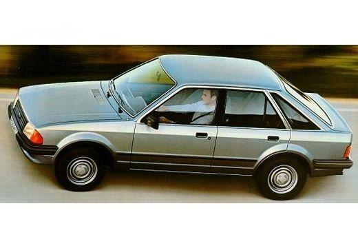 Ford Escort 1985-1986