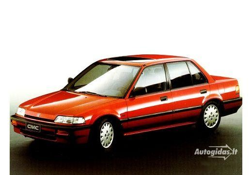 Honda Civic 1990-1991
