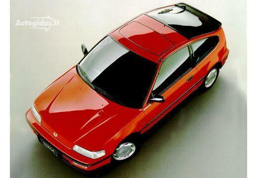 Honda CRX 1989-1993