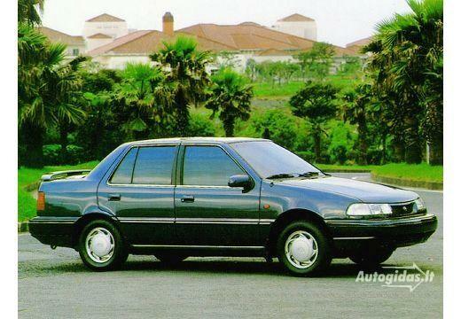 Hyundai Pony 1990-1991