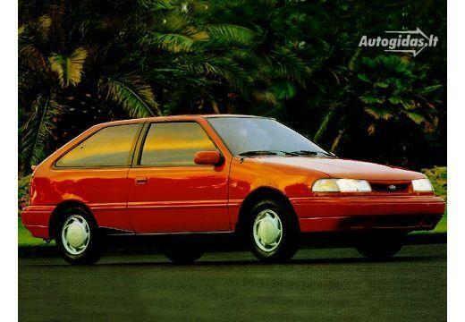 Hyundai Pony 1991-1992