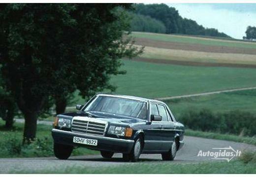 Mercedes-Benz S 420 1986-1987