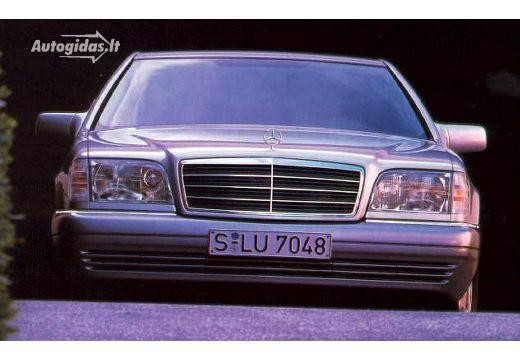 Mercedes-Benz S 600 1992-1993