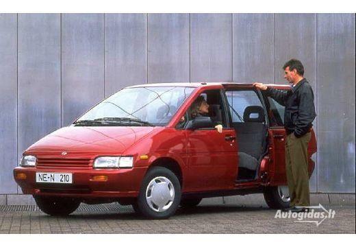 Nissan Prairie 1989-1991