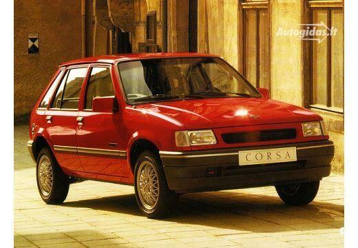 Opel Corsa 1990-1992