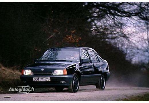 Opel Kadett 1986-1987