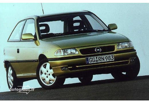 Opel Astra 1991-1992