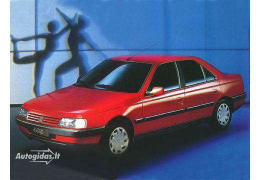 Peugeot 405 1987-1988