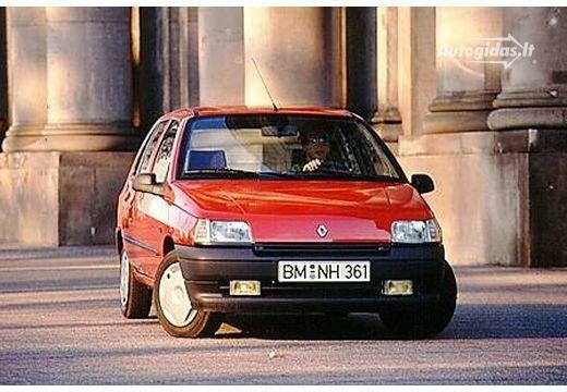 Renault Clio 1991-1992