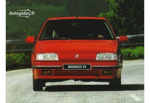 Renault 19 1990-1992