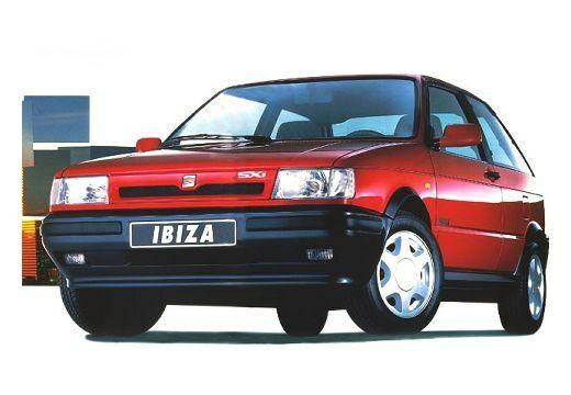 Seat Ibiza 1991-1992