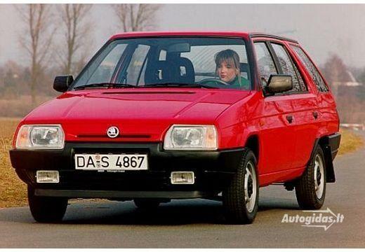 Skoda Forman 1993-1995