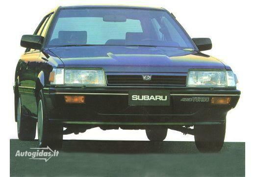 Subaru 1800 Coupe 1988-1989