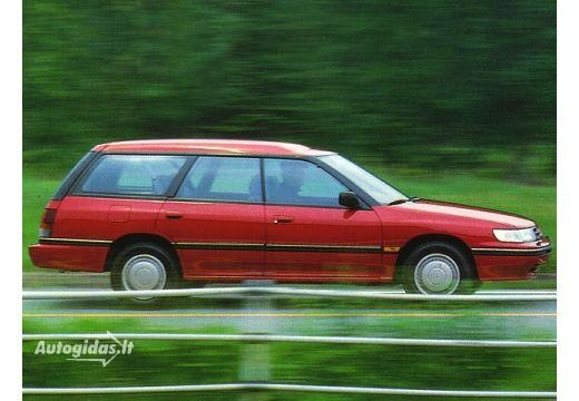 Subaru Legacy 1989-1991