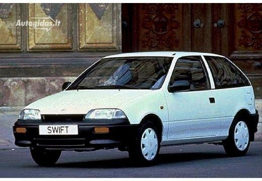 Suzuki Swift 1989-1991