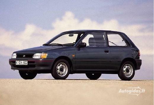 Toyota Starlet 1991-1992