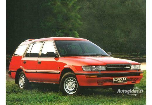Toyota Corolla 1988-1992