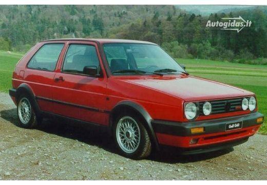 Volkswagen Golf 1989-1992
