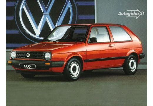 Volkswagen Golf 1986-1989