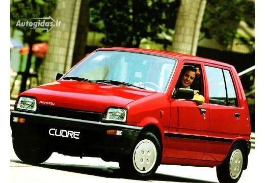 Daihatsu Cuore 1989-1990