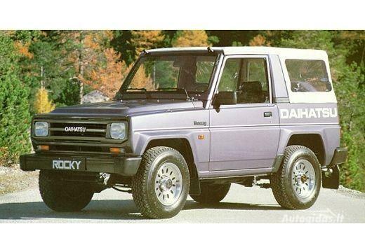 Daihatsu Rocky 1991-1993