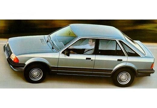 Ford Escort 1984-1985