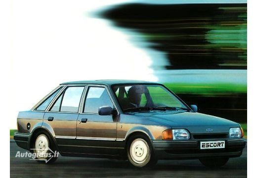 Ford Escort 1987-1988