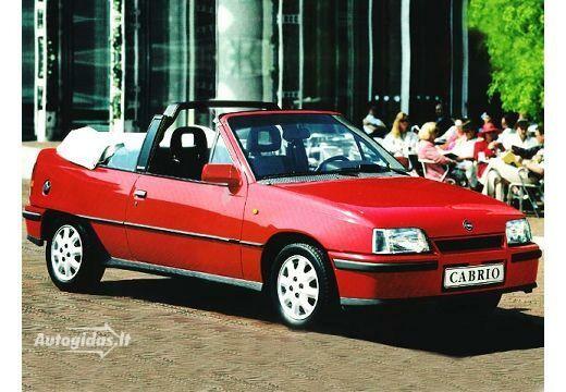 Opel Kadett 1987-1990