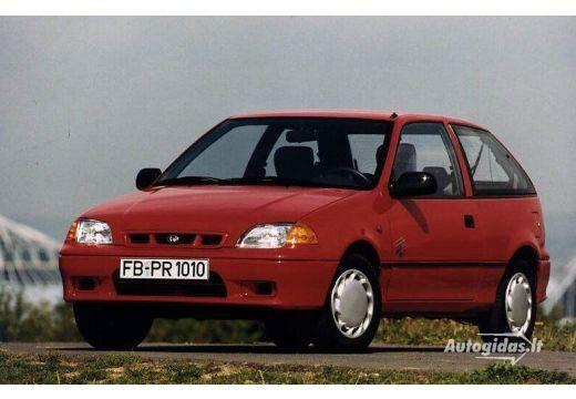 Subaru Justy 1995-1996