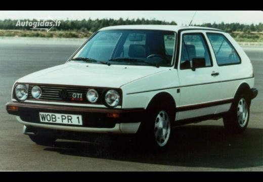 Volkswagen Golf 1986-1988
