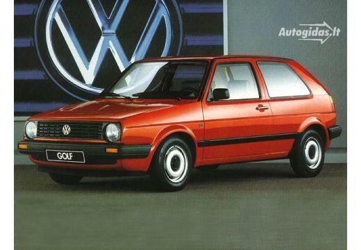 Volkswagen Golf 1986-1988