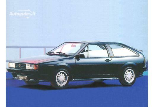 Volkswagen Scirocco 1983-1988