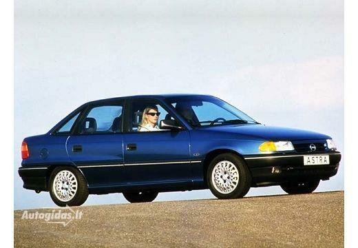 Opel Astra 1998-2002