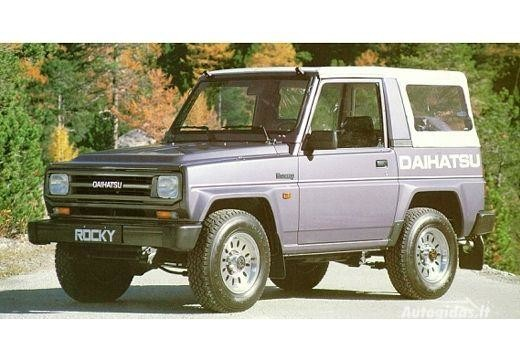 Daihatsu Rocky 1987-1989