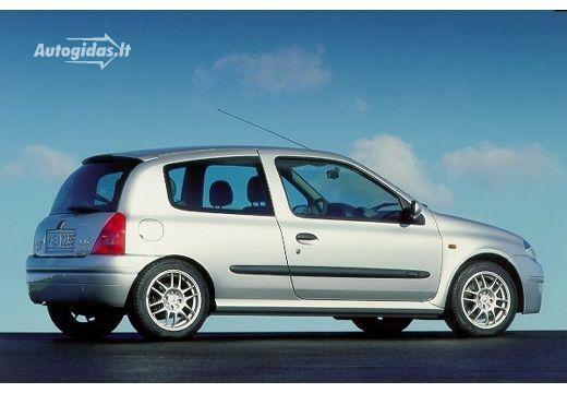Renault Clio II 2 0 16V Sport 2000-2001 | Autocatalog