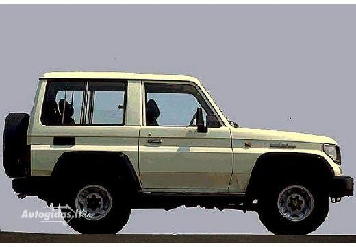Toyota Land Cruiser 1986-1988