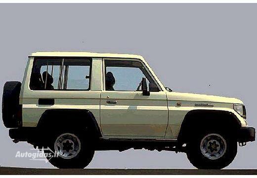 Toyota Land Cruiser 1989-1990