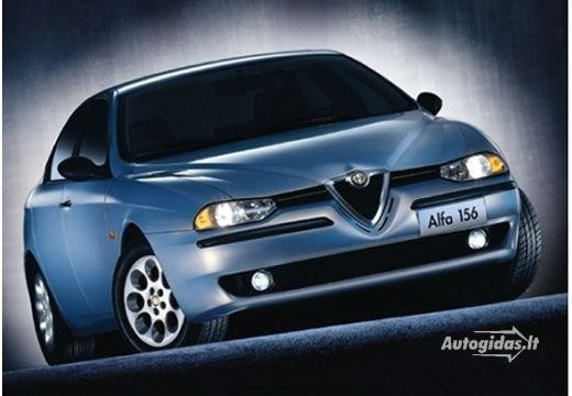 Alfa-Romeo 156 2001-2002