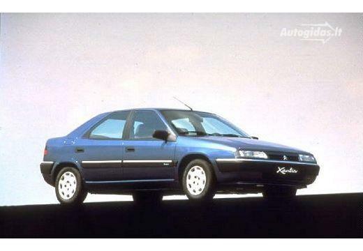 Citroen Xantia 1995-1996