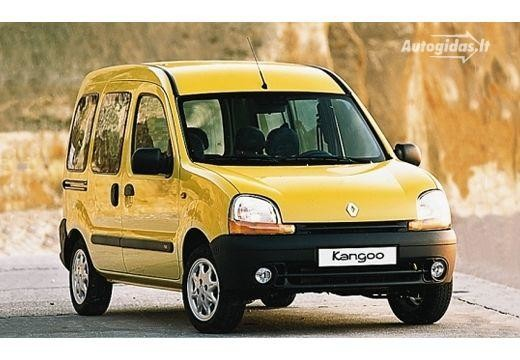 Renault Kangoo 2001-2002
