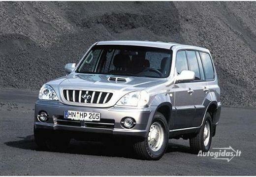Hyundai Terracan 2002-2004