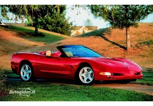 Chevrolet Corvette 2001-2004