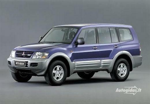 Mitsubishi Montero 2001-2002