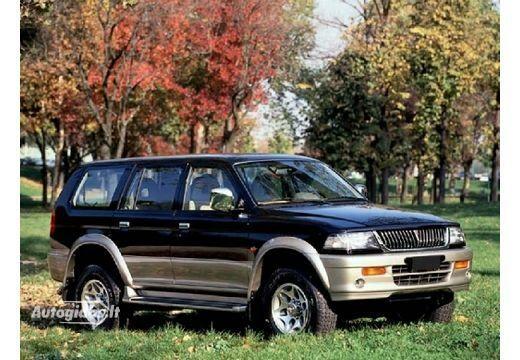 Mitsubishi Montero 1997-2000