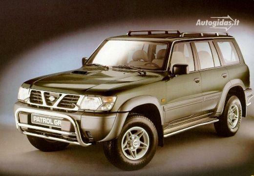 Nissan Patrol 1998-2001