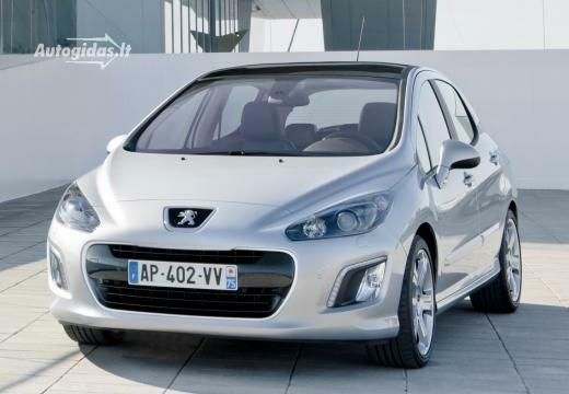 Peugeot 308 2011-2012