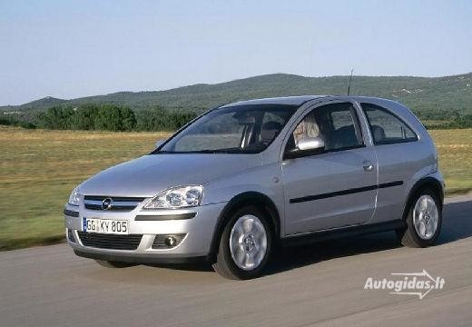 Opel Corsa 2004-2006