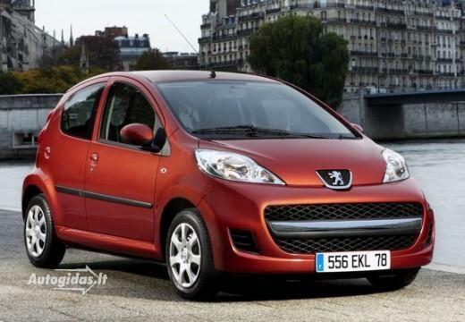 Peugeot 107 2011-2012